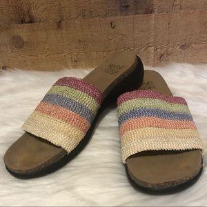 Mootsie Tootsie slide on sandals